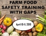 Farm Food Safety Training with GAPs