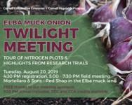 2019 Elba Muck Onion Twilight Meeting