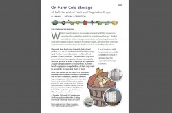 Crop Cooling and Storage