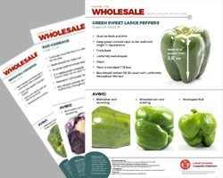Growing for Wholesale: Grading and Packing Guidelines by Crop